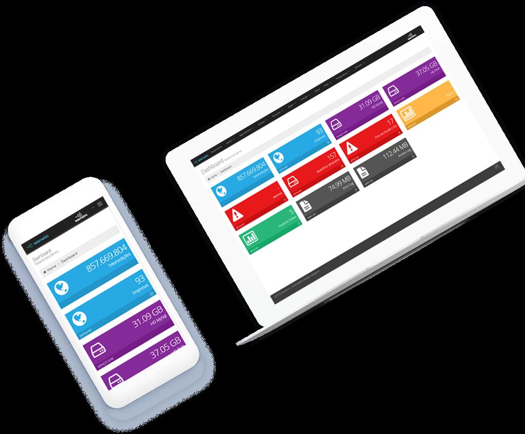 dashboard mobile e pc