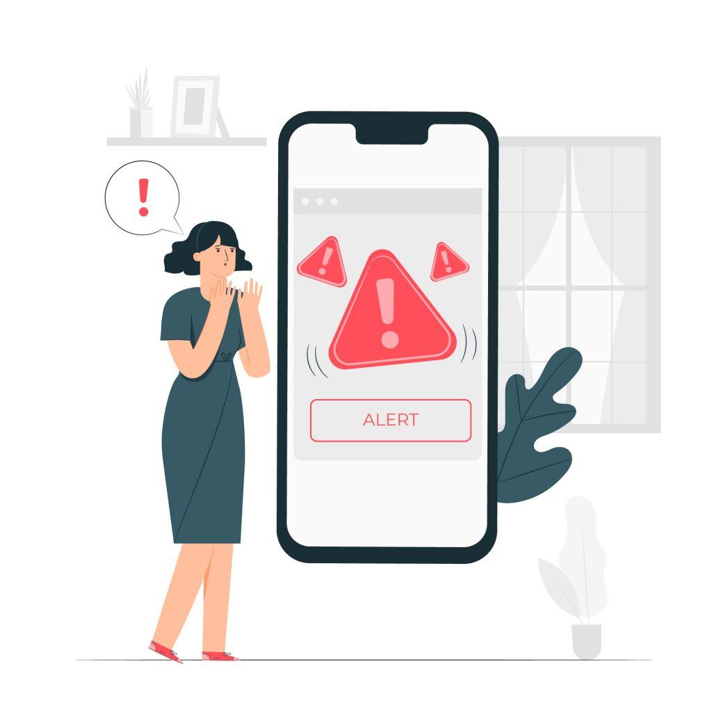 alarmes e alertas